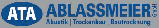 Akustikbau / Trockenbau und Bautrocknung – ATA Ablassmeier GmbH Logo